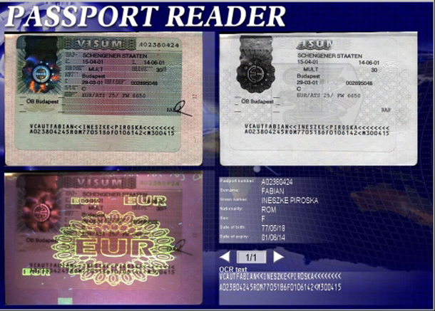 Passport reader software - ARH Inc.